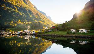 Beautiful Sognefjord by Sverre Hjornevik, Fjord Norway
