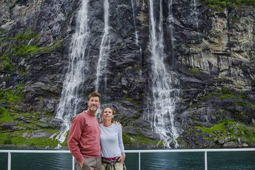 Cruise on UNESCO Geirangerfjord by Agurtxane Concellon, Hurtigruten