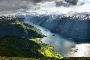 Aurlandsfjord by M. Dickson,Foap, Visit Norway