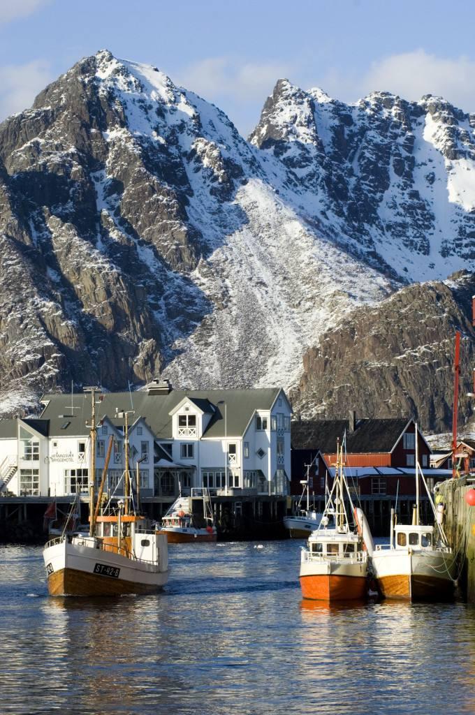 Lofoten islands. Photo by Terje Rakke, Nordic Life, Nordnorsk Reiseliv