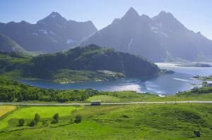 Lofoten islands Norway. Photo by Baard Loeken www.nordnorge.com
