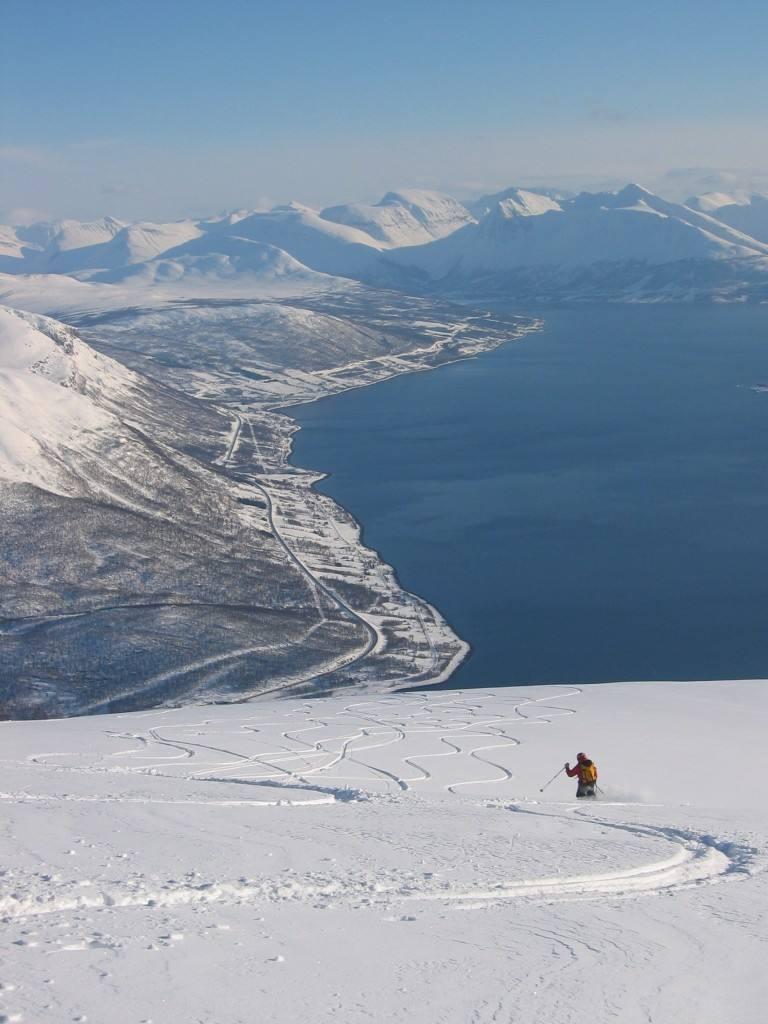 Tromso area Norway