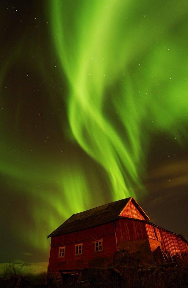 Northern Lights. Photo by Gaute Bruvik, Nordnorsk Reiseliv