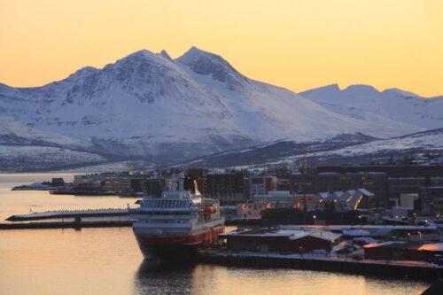 Tromso Norway, The Pier. Photo By Shigeru Ohki, Nordnorsk Reiseliv