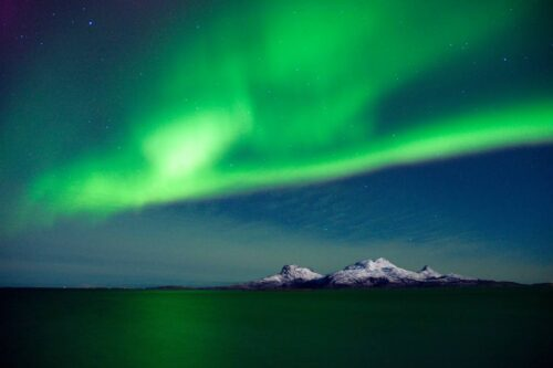Northern Lights Norway. Photo By Kent Even Grundstad, Nordnorsk Reiseliv