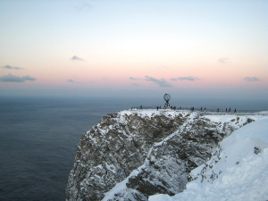 North Cape cliff Norway. Photo by Beate Juliussen, Nordnorsk Reiseliv