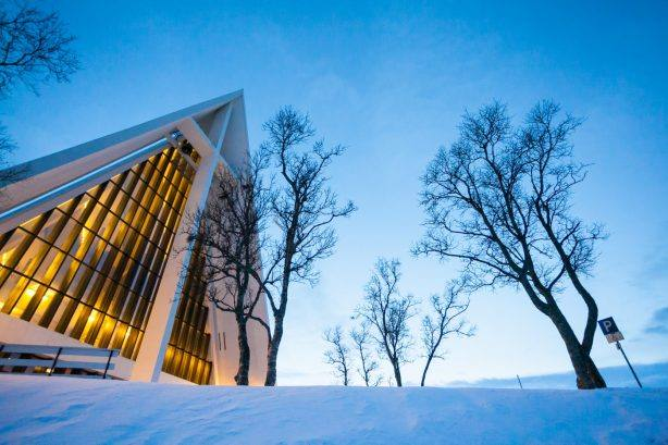 The Arctic cathedral Ishavskatedralen by Konrad Konieczny, VisitNordnorge