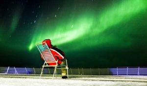 Northern Lights Hurtigruten by Stein J. Bjorge, Hurtigruten