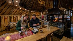 At Gabba Restaurant at Kirkenes Snowhotel by Kirkenes Snowhotel