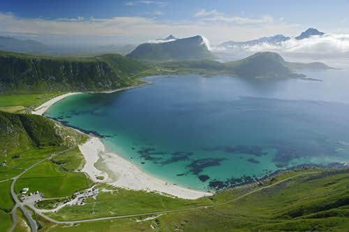 Strand auf den Lofoten, Baard Loeken, Nordnorsk Reiseliv