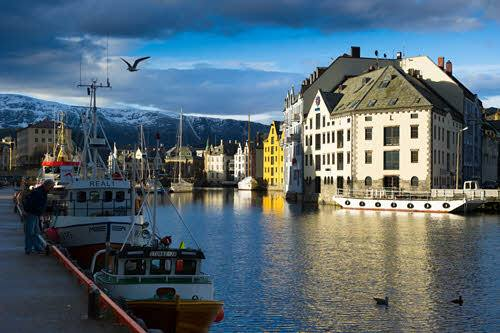 Brosundet in Alesund by Sverre Hjornevik, Visit Norway