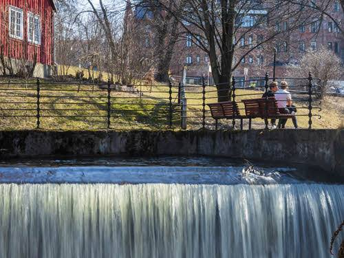 By the Akerselva river by Didrick Sternersen, Visit Oslo