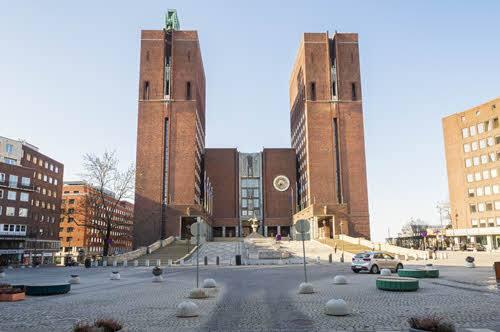City Hall Oslo by Didrick Stenersen, Visit Oslo