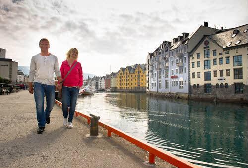 City Walk Alesund by Sverre Hjornevik, Fjord Norway