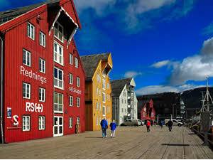 Colourful Tromso by Pixabay