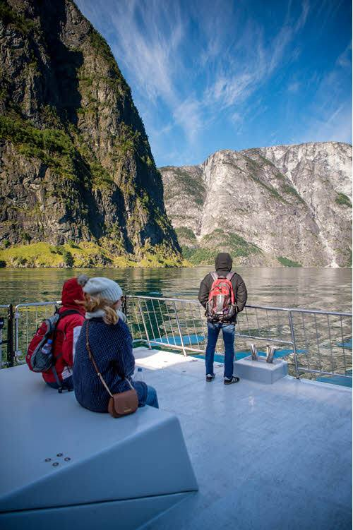 Cruise on beautiful Sognefjord by Sverre Hjornevik, Flam AS