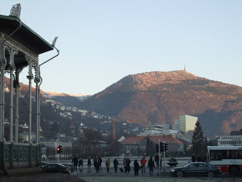 Bergen Norway in winter. Photo by Rita de Lange, Fjord Travel Norway