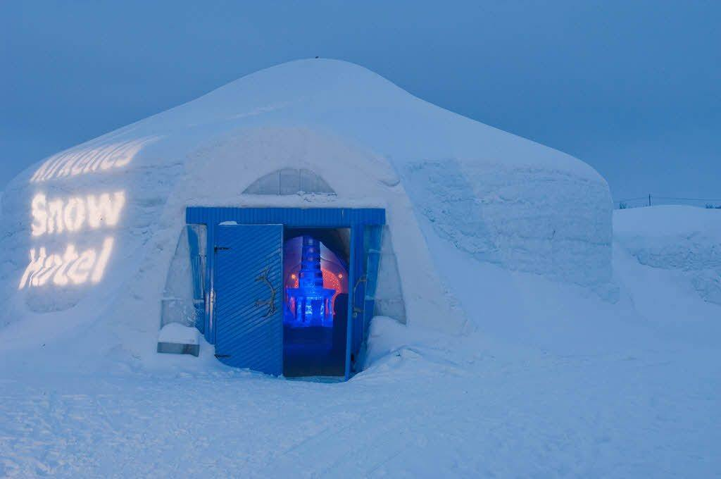 Entrance Kirkenes Snowhotel by toma Babovicfoto@babovic.de, Hurtigruten