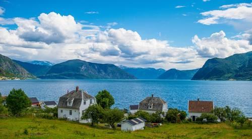 Beautiful Sognefjord by Sverre Hjørnevik, Fjord Norway