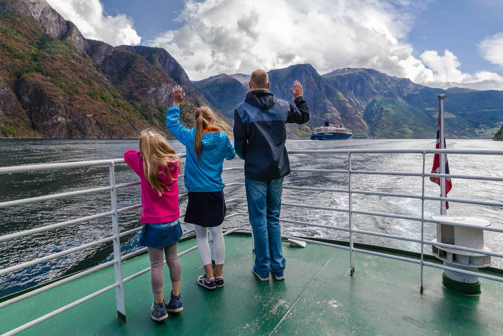 Fjord Cruise on Sognefjord by Jonny Akselsen, Fjord Norway