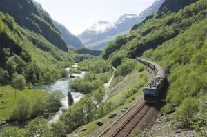 Flam Railway. Photo by Terje Rakke, Nordic Life/Fjord Norway