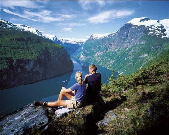 Geirangerfjord view. Photo by Terje Rakke, Nordic Life/FjordNorway