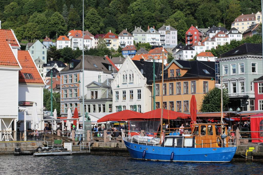 Bergen Fish Market. Photo by Rita de Lange, Fjord Travel Norway