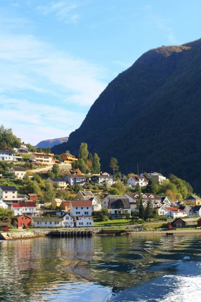 The beautiful Sognefjord. Photo by Rita de Lange, Fjord Travel Norway