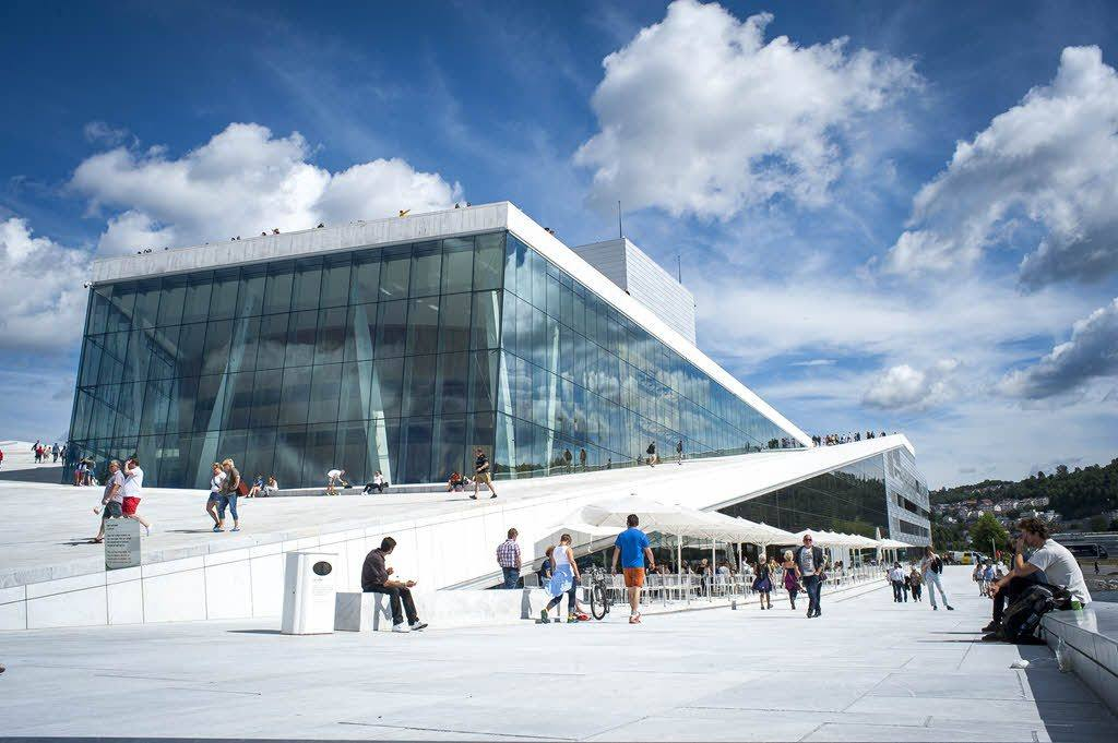 Iconic Oslo Opera House by Thomas Johannessen, Visit Oslo