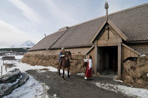 Lofotr Viking Museum in Borg by CH, VIsit Norway