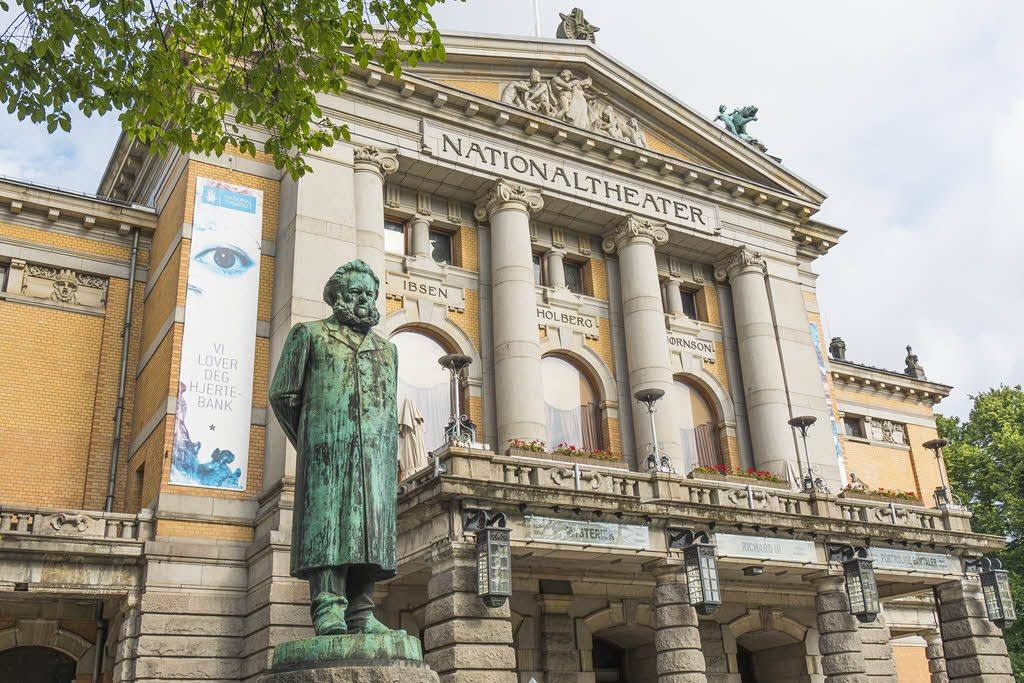 National Theatre Oslo by Didrick Stenersen, Visit Oslo