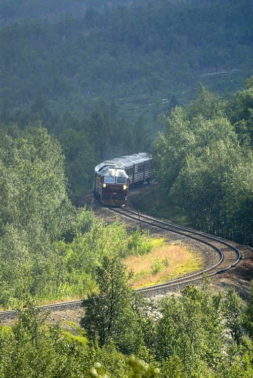 Nordland Railway by Rune Fossum, NSB