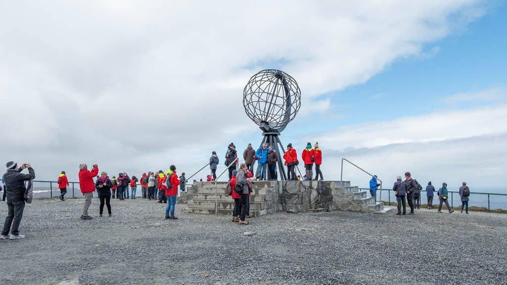 North Cape Globe by Stefan Dall, Hurtigruten
