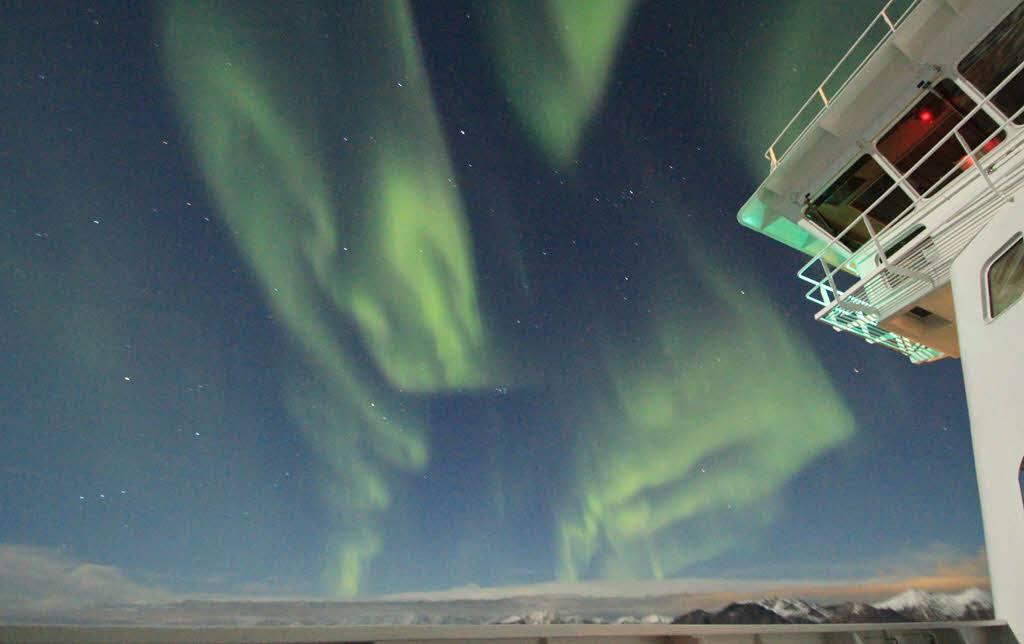 Northern Lights Cruise by Steven J Hynes, Hurtigruten