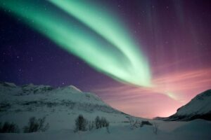 Northern Lights in Norway, by Gaute Bruvik, Nordnorsk Reiseliv