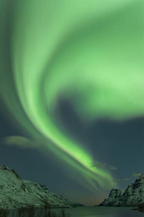 Northern Lights close to Tromso by Bjorn Jorgensen, Visit Norway