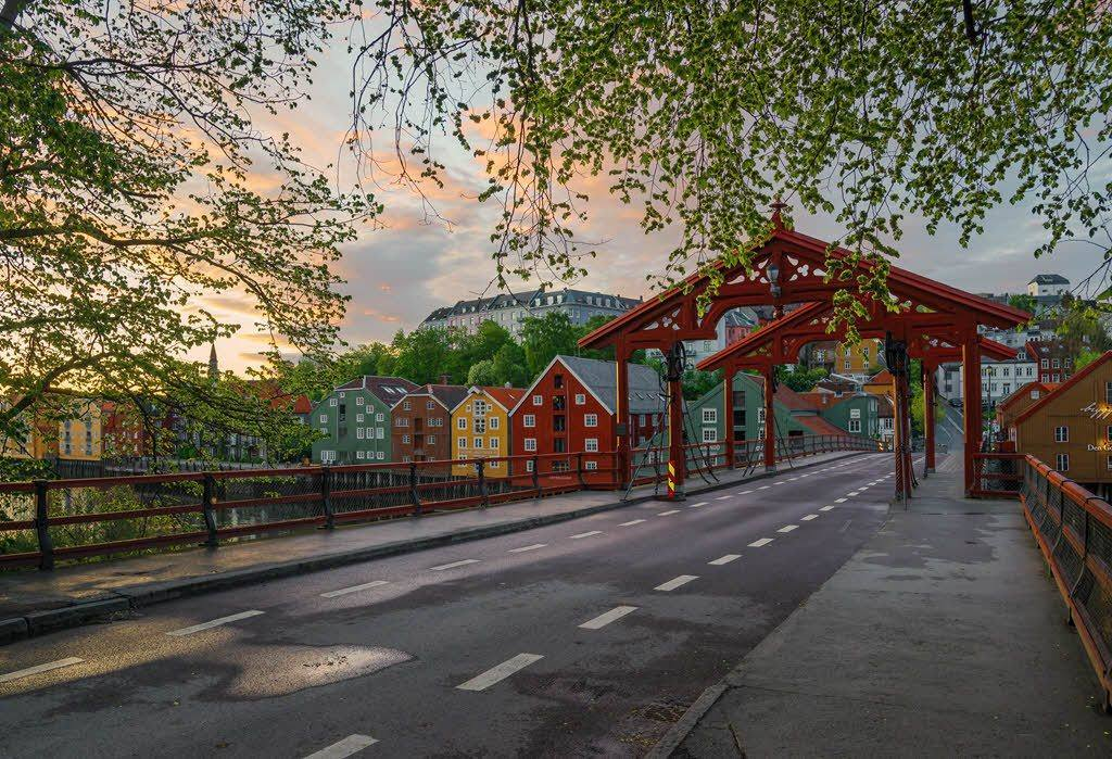 Old bridge in Trondheim by Petr Pavlicek, Visit Trondheim