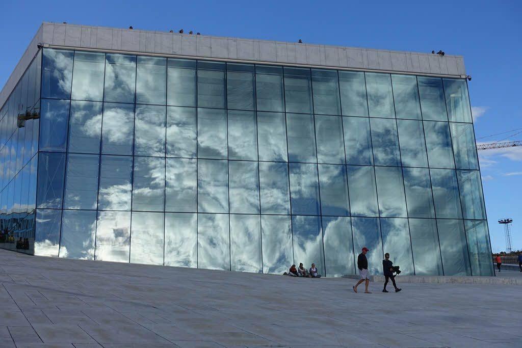 Oslo Opera House by Pixabay
