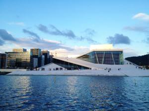 Oslo Opera house. Photo by Rita de Lange, Fjord Travel Norway
