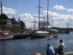 Summer in Oslo, at the waterfront. Photo by Rita de Lange, Fjord Travel Norway