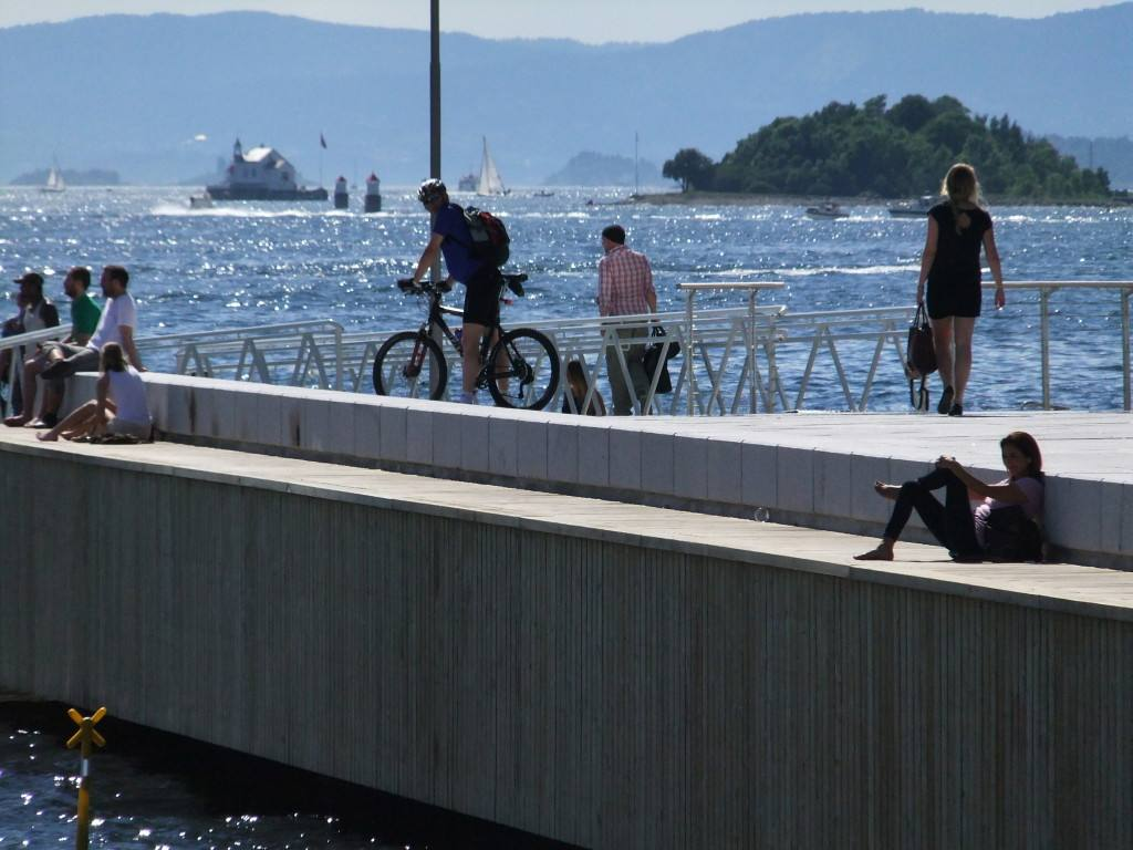 Summer in Oslo, by the Oslo fjord. Photo by Rita de Lange, Fjord Travel Norway