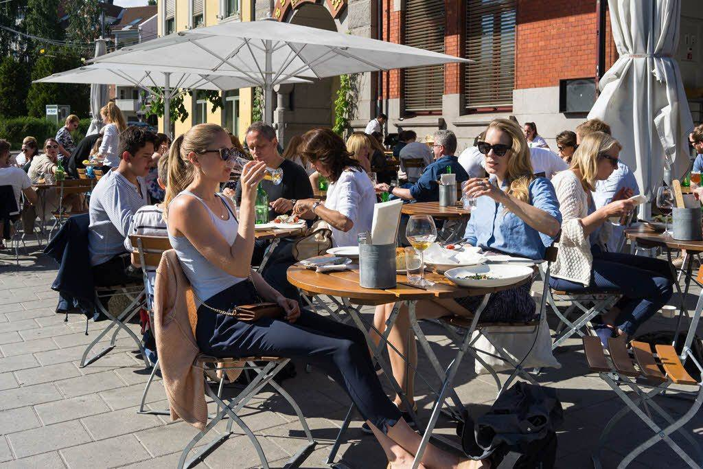 Outdoor restaurant by Anders Husa, Visit Oslo