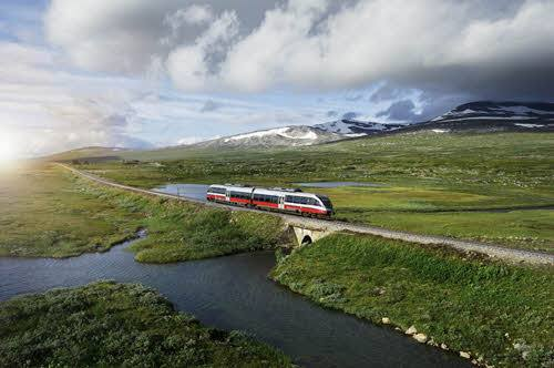 Ride on the Arctic Nordland Line by Oivind Haug, NSB