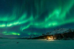 Northern Lights by Stian Klo, Hurtigruten