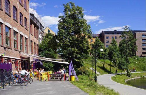 Street View In Grünerlokka By Tord Baklund, Visit Oslo