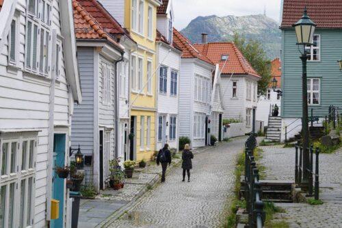 Streets of Bergen by Gjertrud Coutinho, Visit Bergen