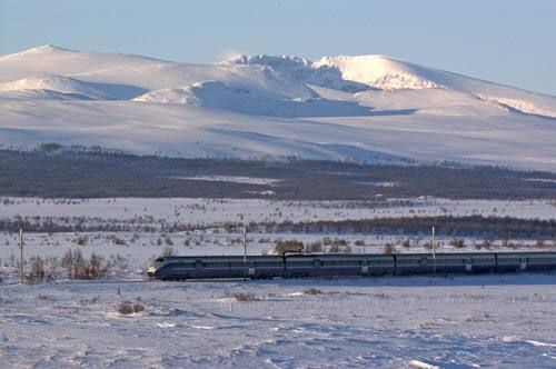 The Dovre line Norway. Photo by Rune Fossum, NSB