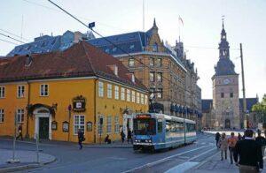 Tram In Oslo By Tord Baklund, Visit Oslo