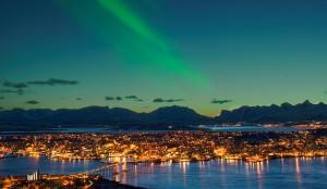 Northern Lights over Tromso, Norway. Photo by Bard Loken, Innovatioin Norway