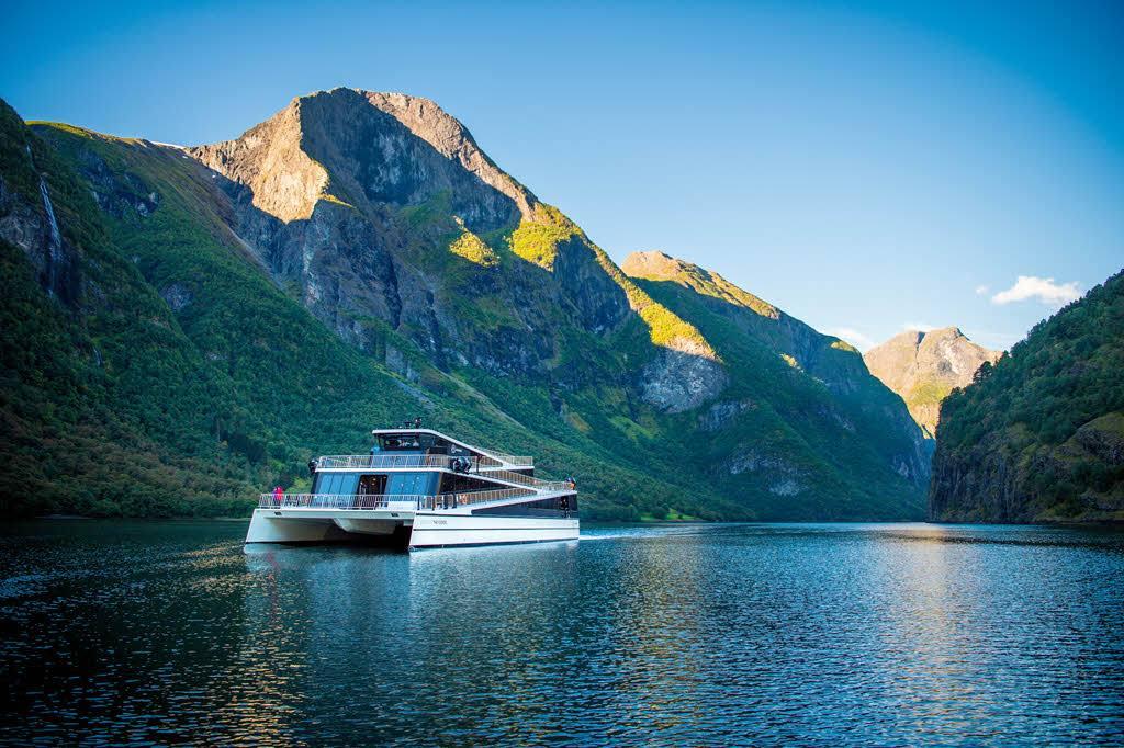 UNESCO Naeroyfjord by Sverre Hjornevik, Flam AS